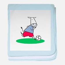Soccer Cow Infant Blanket