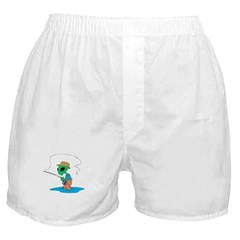 Fisherman Alien Boxer Shorts