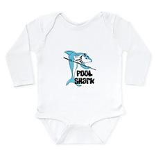 Pool Shark Long Sleeve Infant Bodysuit