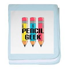 Pencil Geek Infant Blanket