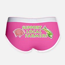 Support Local Farmers Women's Boy Brief