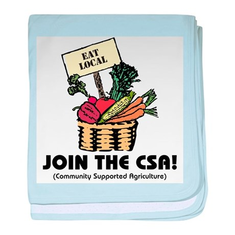 Join the CSA Infant Blanket