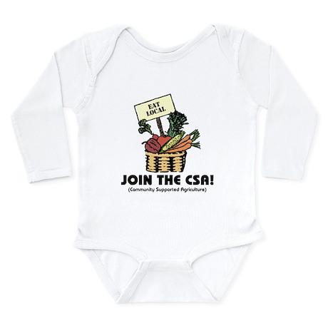 Join the CSA Long Sleeve Infant Bodysuit