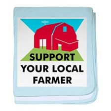 Support Your Local Farmer Infant Blanket