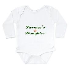 Farmer's Daughter Long Sleeve Infant Bodysuit