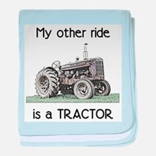 Ride a Tractor Infant Blanket