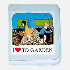 I Love to Garden Infant Blanket