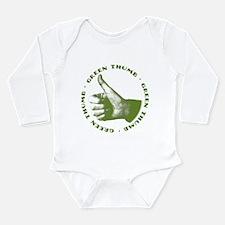 Green Thumb Long Sleeve Infant Bodysuit