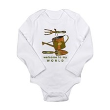 Garden Tools Long Sleeve Infant Bodysuit