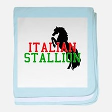 Italian Stallion Infant Blanket