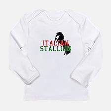 Italian Stallion Long Sleeve Infant T-Shirt