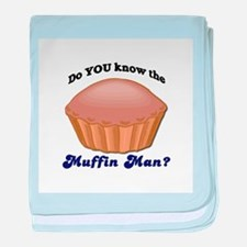 Muffin Man Infant Blanket