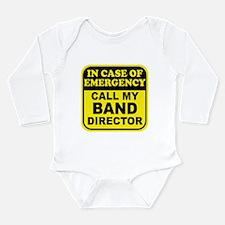 Band Emergency Long Sleeve Infant Bodysuit