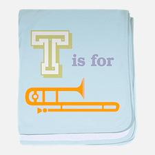Tis for Trombone Infant Blanket