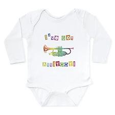 Trumpet Attitude Long Sleeve Infant Bodysuit
