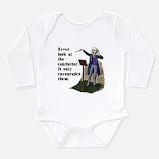 Conductor Long Sleeve Infant Bodysuit