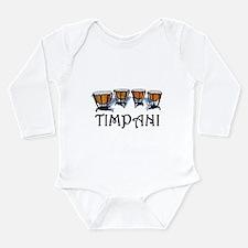 Timpani Long Sleeve Infant Bodysuit