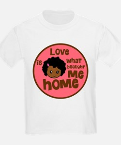 African Girl Love Brought Me Home T-Shirt