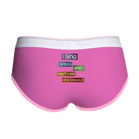 Opera Singer Women's Boy Brief