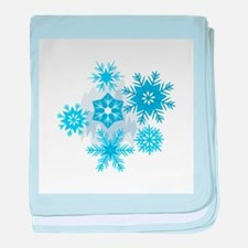 Snowflakes Infant Blanket