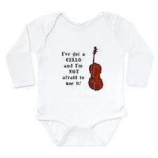 I've Got a Cello Onesie Romper Suit