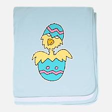 Silly Chick in Easter Egg Infant Blanket