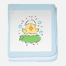 Baby Chick in Egg Infant Blanket