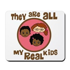 African/Caucasian They Are All My Real Kids Mousep