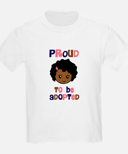 Proud to be Adopted African girl T-Shirt