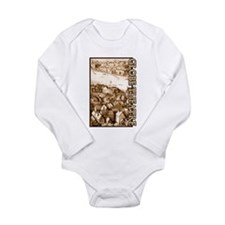 The Globe Theatre Long Sleeve Infant Bodysuit
