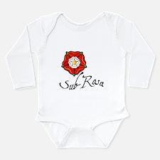 Sub-Rosa Long Sleeve Infant Bodysuit