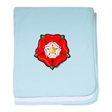 Single Tudor Rose Infant Blanket