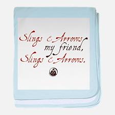 Slings & Arrows Infant Blanket