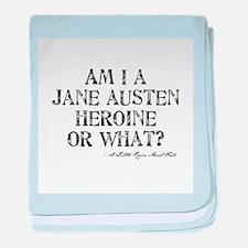 Jane Austen Quote Infant Blanket
