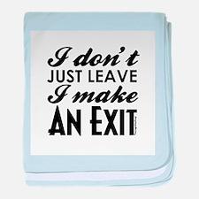Exit Infant Blanket