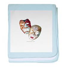 Drama Masks Infant Blanket