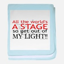 Get Out Of My Light! Infant Blanket