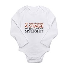 Get Out Of My Light! Long Sleeve Infant Bodysuit