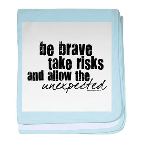 Be Brave Infant Blanket