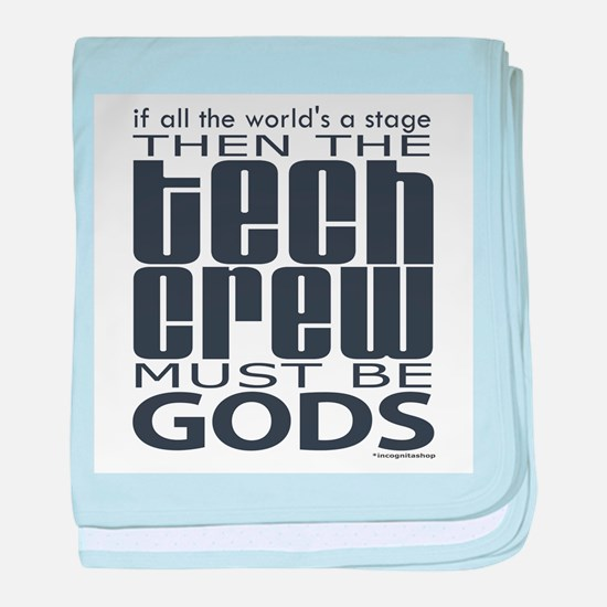 Tech Crew Gods Infant Blanket