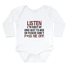 Crew Design #2 Long Sleeve Infant Bodysuit