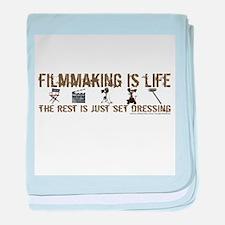 Filmmaking is Life Infant Blanket