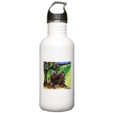 Tibetan Terrier Fall Autumn S Water Bottle 1. Stai