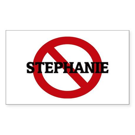 Anti-Stephanie Rectangle Sticker