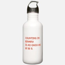 Counting in Binary Water Bottle