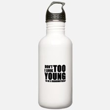 Too young to be a grandmother Water Bottle 1. Stai