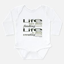 Shaw Life Long Sleeve Infant Bodysuit