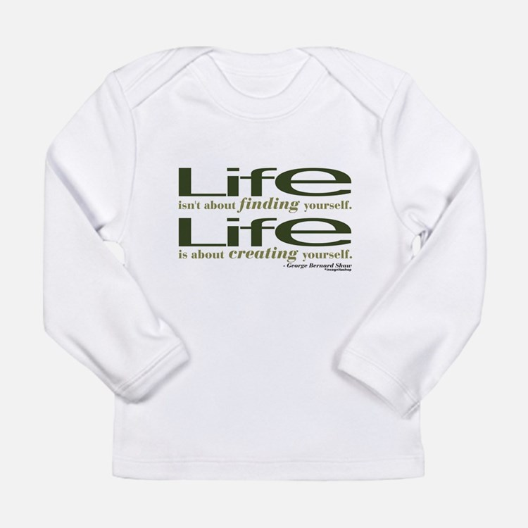 Shaw Quote No. 1 Long Sleeve Infant T-Shirt