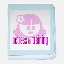 Actress-In-Training Design II Infant Blanket