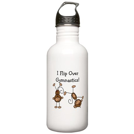 Flip Over Gymnastics Stainless Water Bottle 1.0L